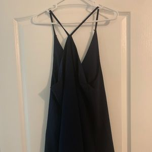 Lulus Navy cross dress L
